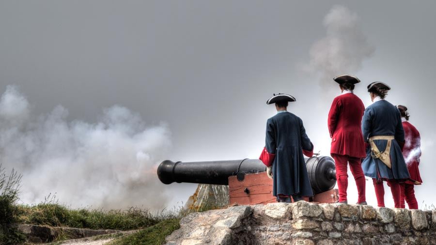 Fortress of Louisbourg Canons