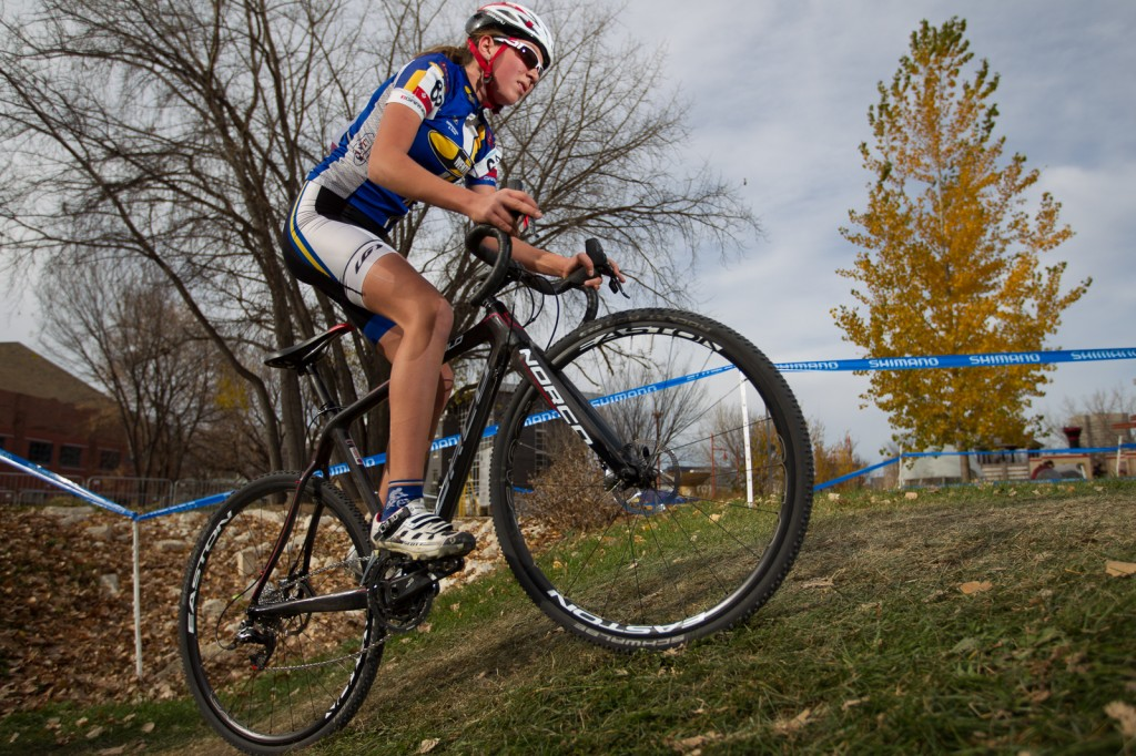 Rider from Women's Canadian Championship - 2014 Cyclocross Nationals
